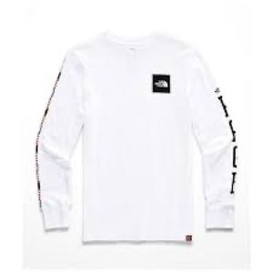 """North Face """"Rage"""" White long-sleeve shirt"""